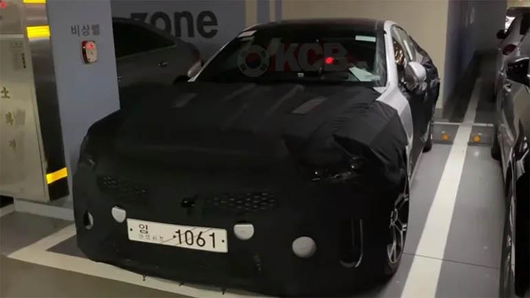 Новый Kia Stinger замечен в Южной Корее 1