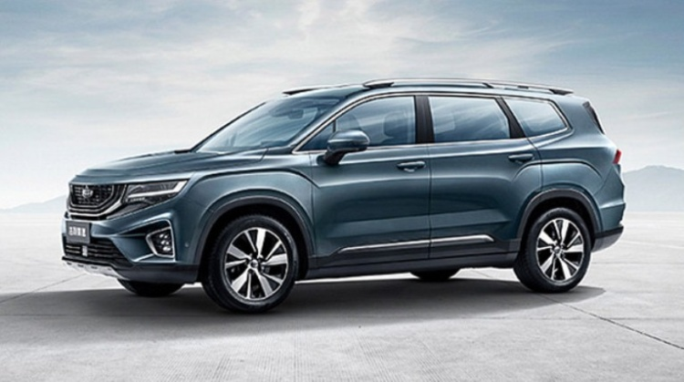 Geely презентовала аналог нового Hyundai Santa Fe 1