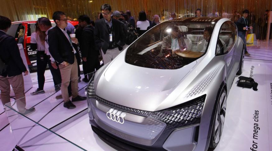 Компания Audi презентовала электромобиль AI:ME 1