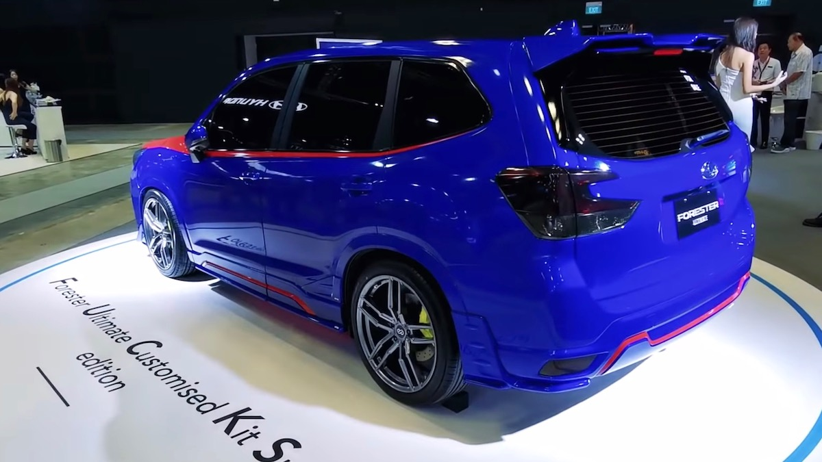 Subaru Forester получил неприличную спецверсию 2