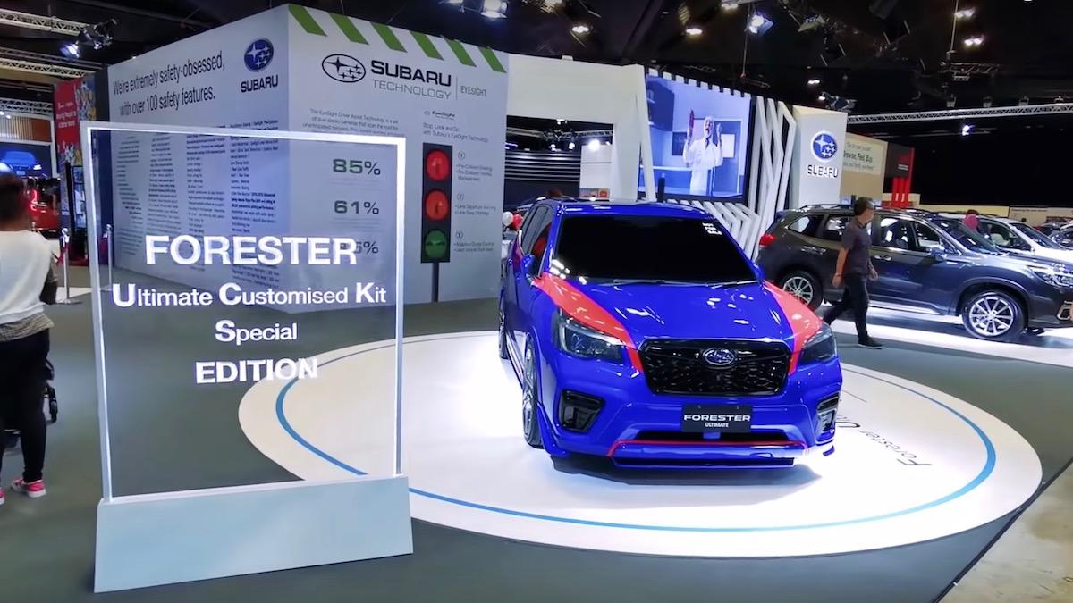 Subaru Forester получил неприличную спецверсию 1
