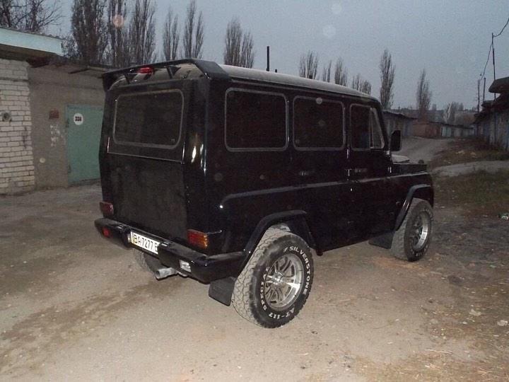 Украинцы сделали из старого УАЗа «Гелендваген» и выставили его на продажу — в разделе «Звук и тюнинг» на сайте AvtoBlog.ua