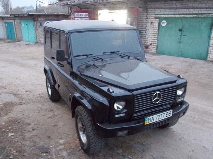 Украинцы сделали из старого УАЗа «Гелендваген» и выставили его на продажу 1