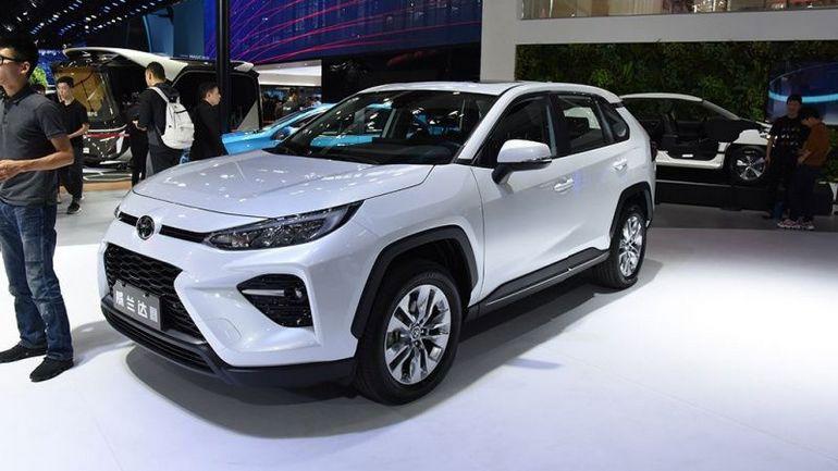 Новый кроссовер Toyota выходит на рынок 1