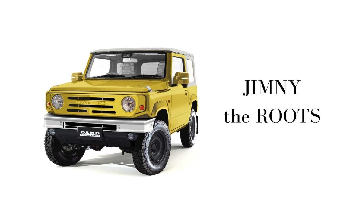 Suzuki Jimny сделали похожим на Ford Bronco 2