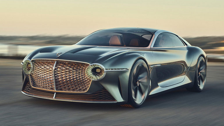 Bentley назвала сроки выхода своего первого электрокара 1