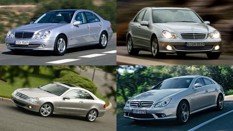 Mercedes отзывает почти 750 тысяч автомобилей из-за люков 1