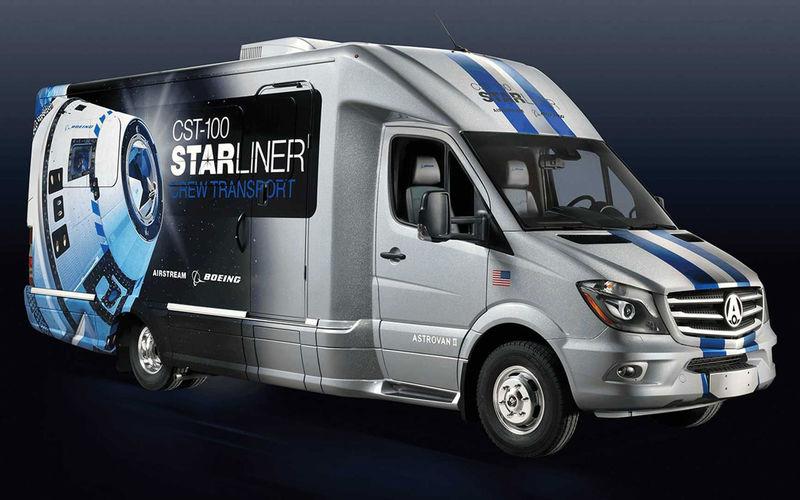 Представлен специальный автобус для космонавтов 1