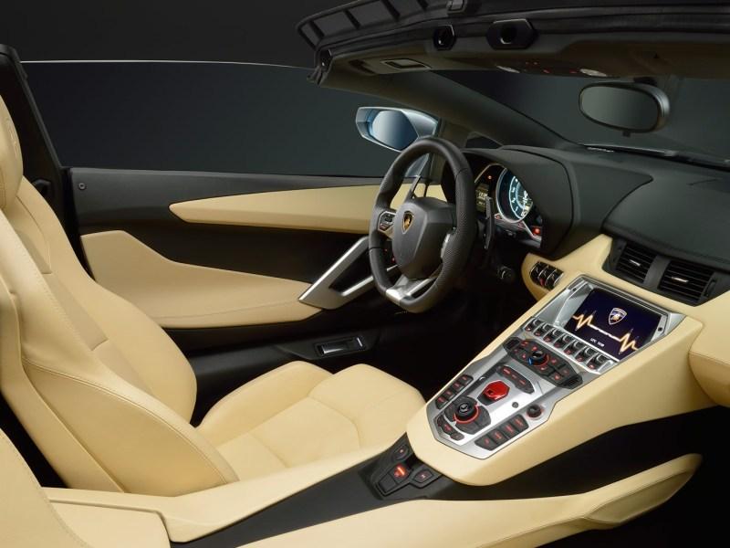 Обзор Lamborgini Aventador 4