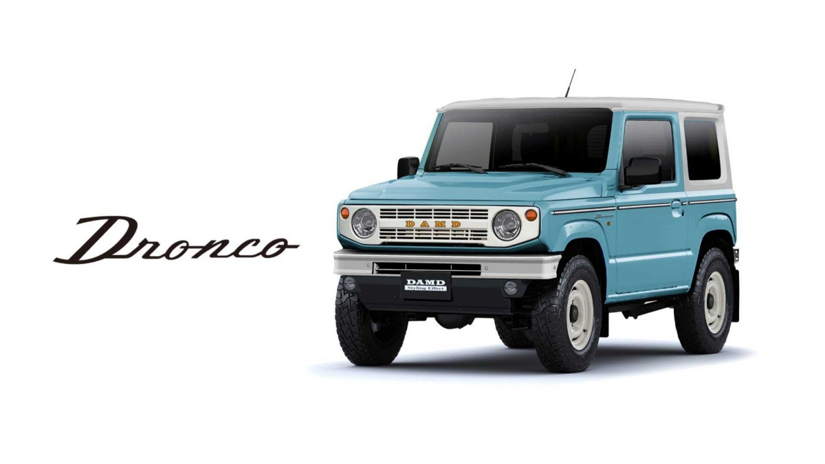 Suzuki Jimny сделали похожим на Ford Bronco 1