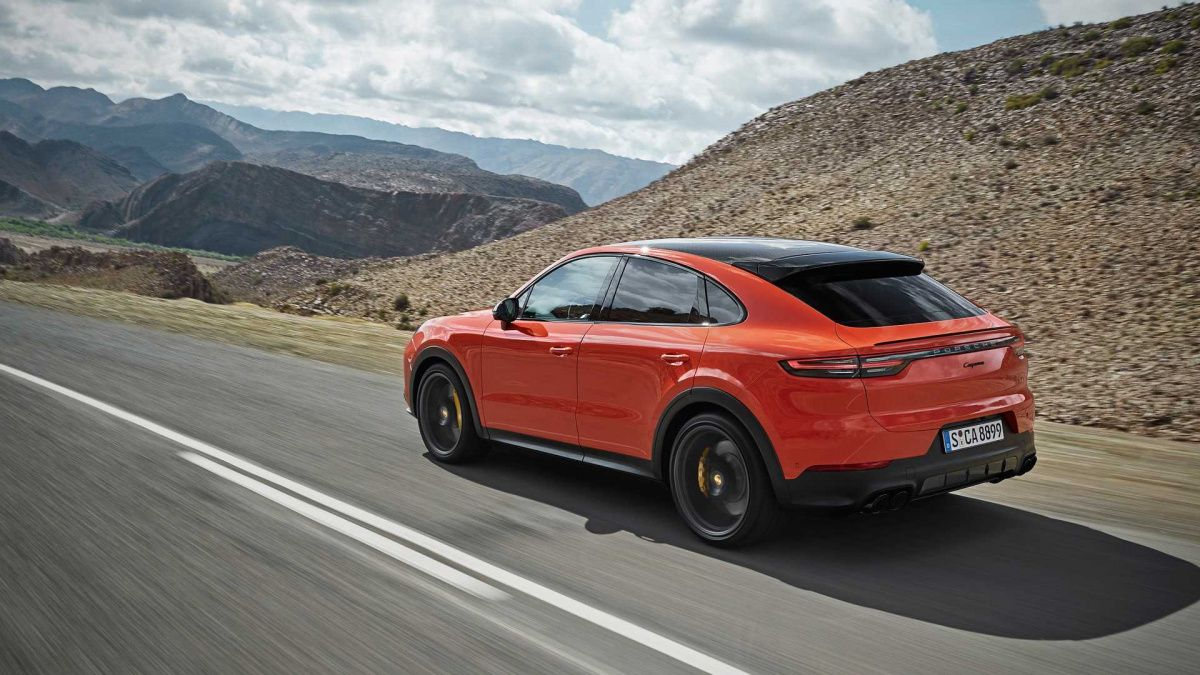 Обзор нового Porsche Cayenne Coupe 1