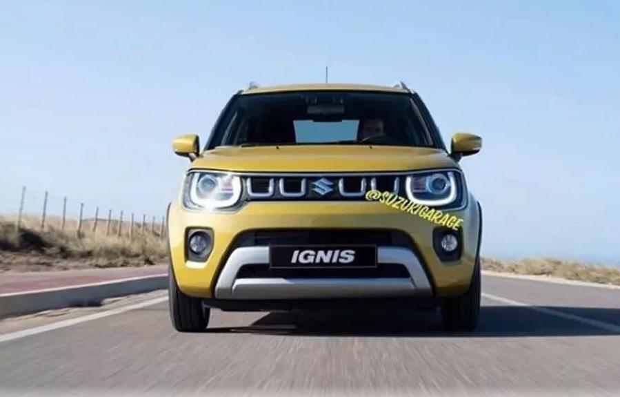 Компания Suzuki показала обновленный Ignis 1