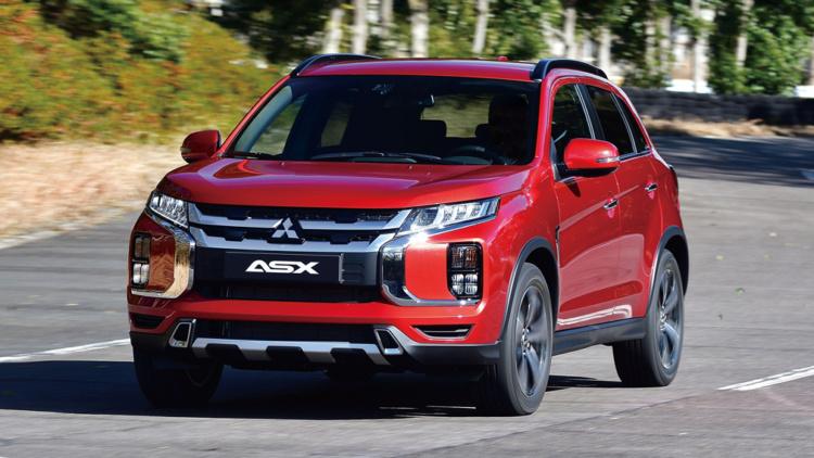 Рассекречен последователь Mitsubishi ASX 1