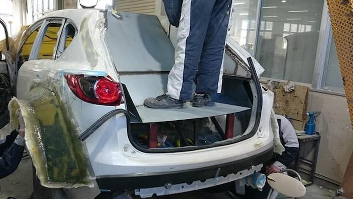Первое поколение Mazda CX-5 получило раллийную версию 2