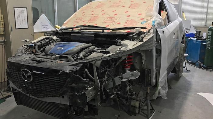 Первое поколение Mazda CX-5 получило раллийную версию 1