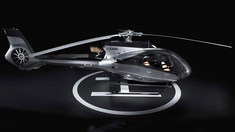 Aston Martin и Airbus представили новый вертолет 1