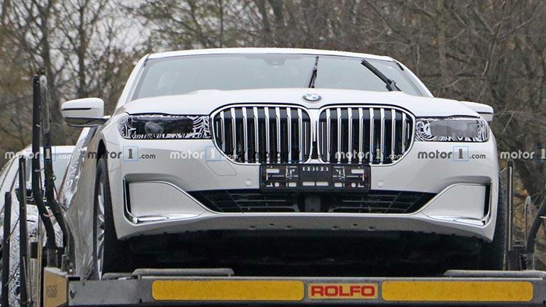 Фотошпионы поймали новую генерацию BMW 7 Series 1