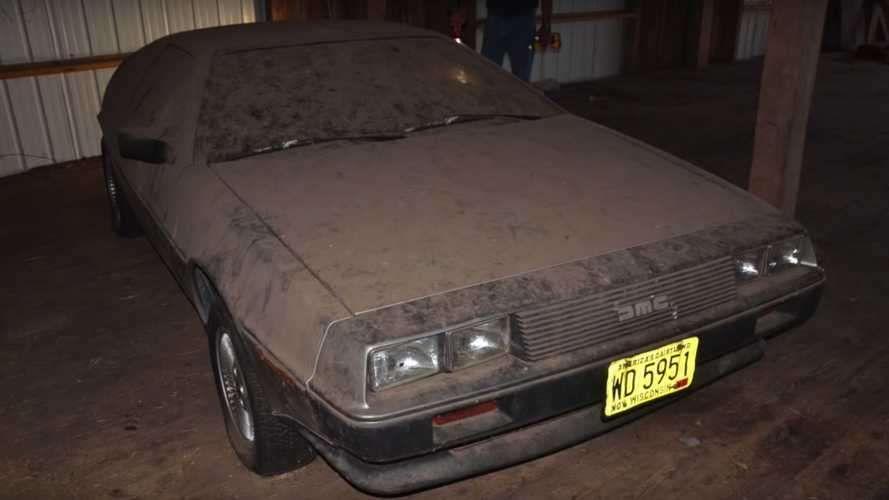 В старом гараже найдено легендарное авто из фильма «Назад в будущее» 1