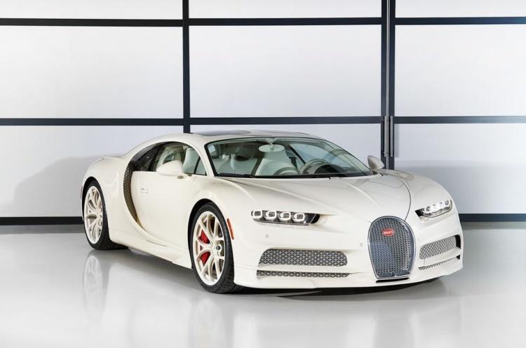 Bugatti Chiron обзавелся спецверсией в единственном экземпляре 1