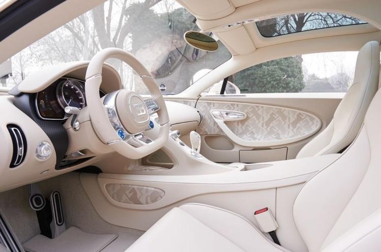Bugatti Chiron обзавелся спецверсией в единственном экземпляре 2