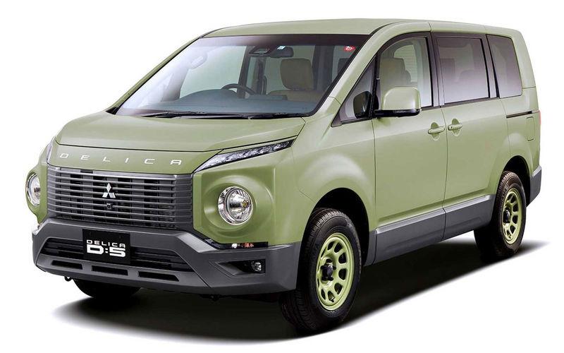 Премьера возрожденной Mitsubishi Delica: через две недели 1