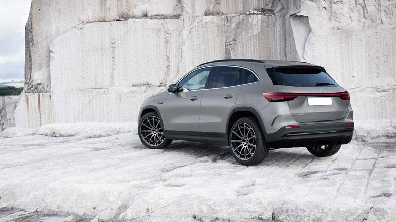 В Сети представлены изображения нового Mercedes EQA 1