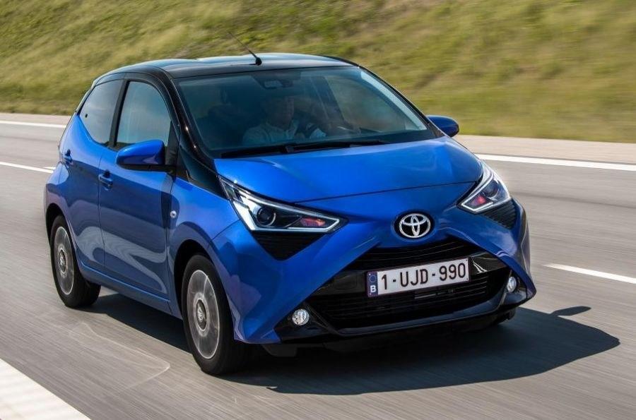 Хэтчбек Toyota Aygo станет выше и будет выглядеть как мини-вседорожник 1