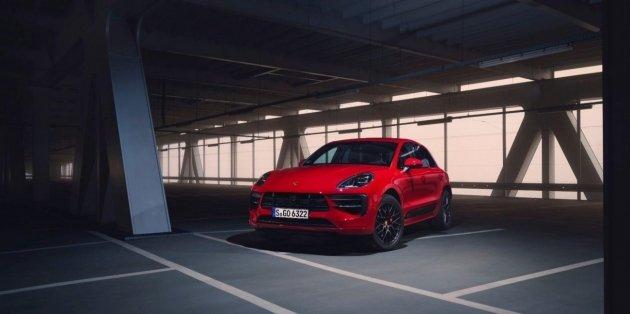 Porsche представила обновленный Macan GTS 1