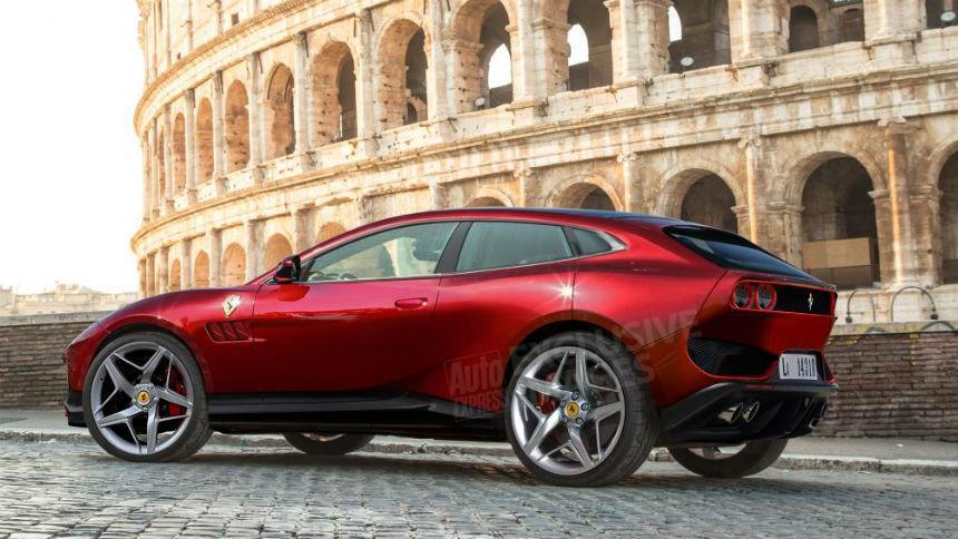 Известна дата появления кроссовера Ferrari 1
