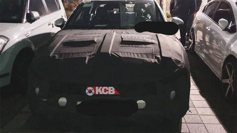 В Сети появились фотоснимки Kia Optima GT 1