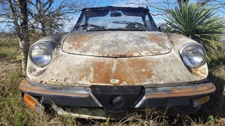В США отыскали десять классических Alfa Romeo по 75 долларов за штуку 1