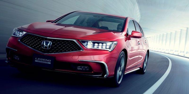 Honda планирует выпустить беспилотный Legend 1