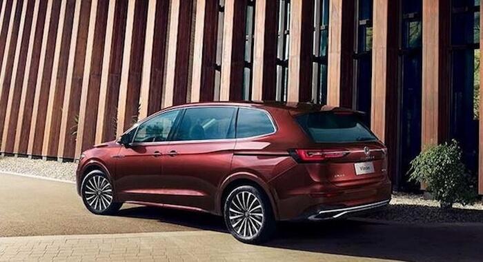 Volkswagen представил новый минивэн Viloran 2