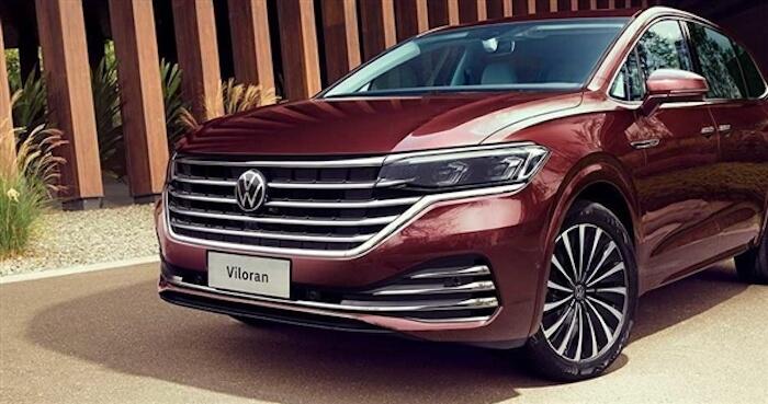 Volkswagen представил новый минивэн Viloran 1