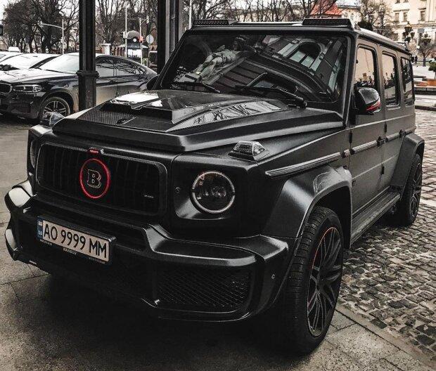 В Украине заметили очередной дорогущий «Гелик» от Brabus 1