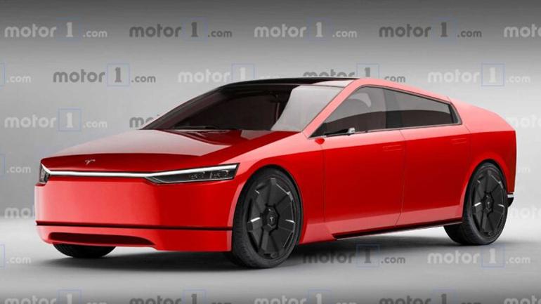 Дизайнеры представили Tesla Model S с экстерьером Cybertruck 1