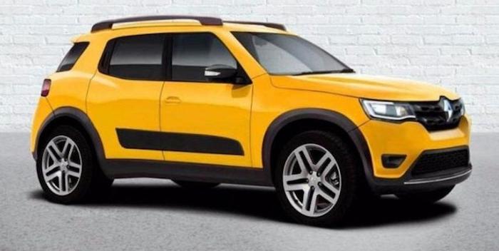 Renault выпустит новый бюджетный кроссовер HBC 1