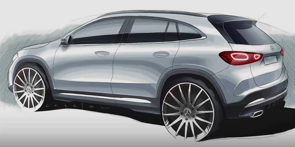 Mercedes показал дизайн нового GLA 1