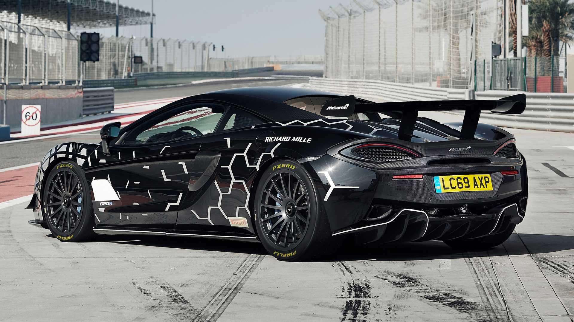 McLaren 620R: гоночный суперкар с доступом на обычные дороги 2