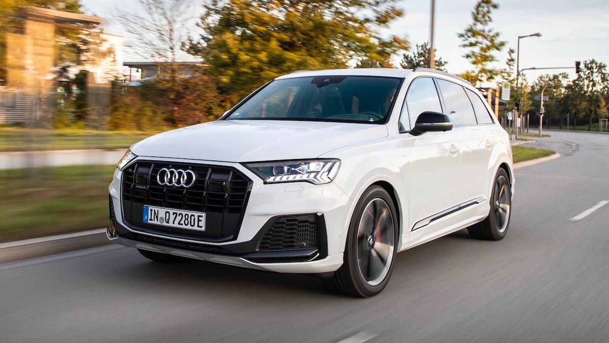 Audi Q7 стал 456-сильным гибридом 1