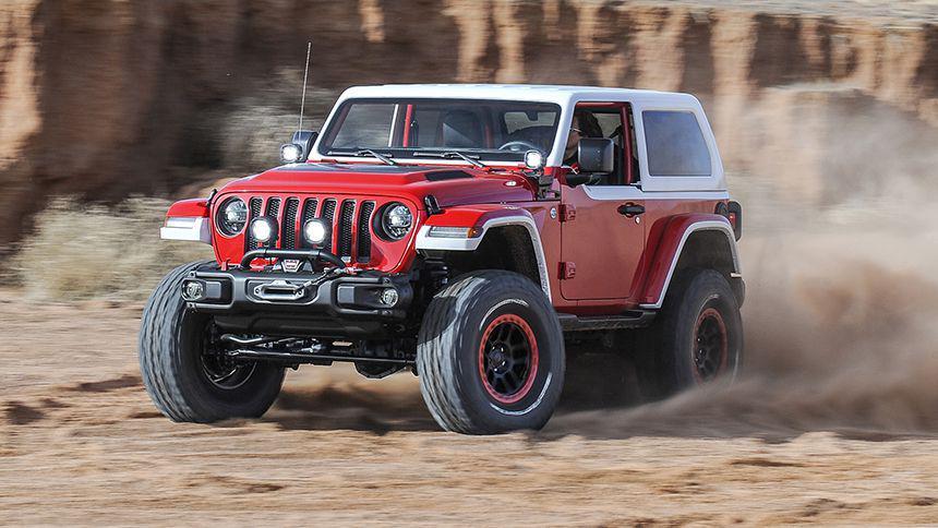Jeep и Peugeot выпустят крошечный внедорожник типа Jimny 1