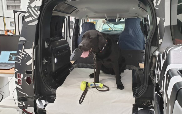 Jaguar Land Rover сконструировал лапу собаки 1
