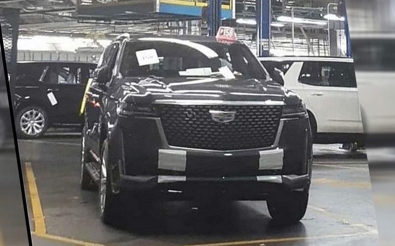 В сети опубликовали первые фото Cadillac Escalade с завода 1
