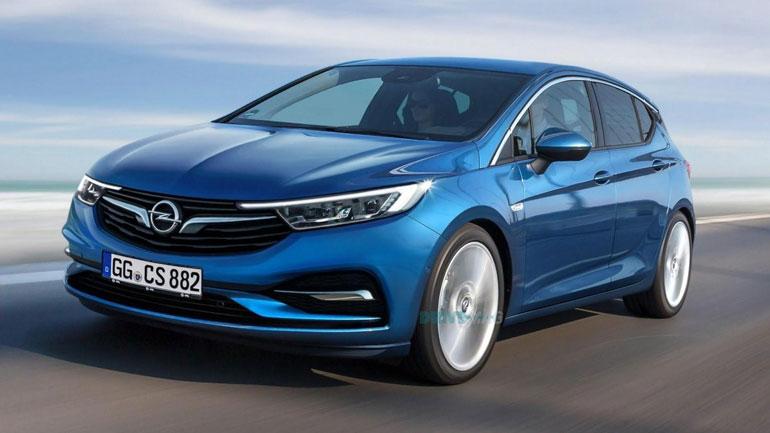 Опубликованы первые фотографии нового купе Opel Astra 1