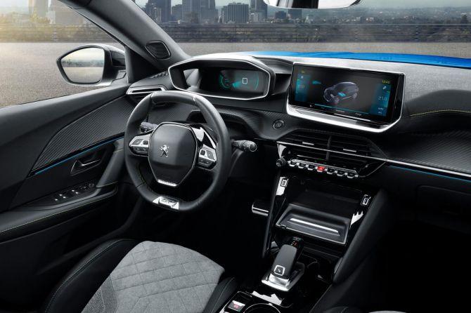 Кроссовер Peugeot 2008 получил электрическую версию 2