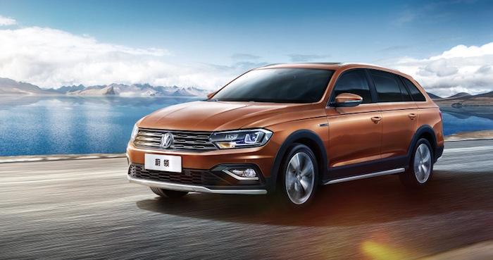 В продажу поступил доступный кросс-универсал Volkswagen C-Trek 1