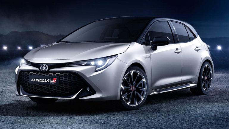 Гибридная Toyota Corolla появится в 2020 году 1