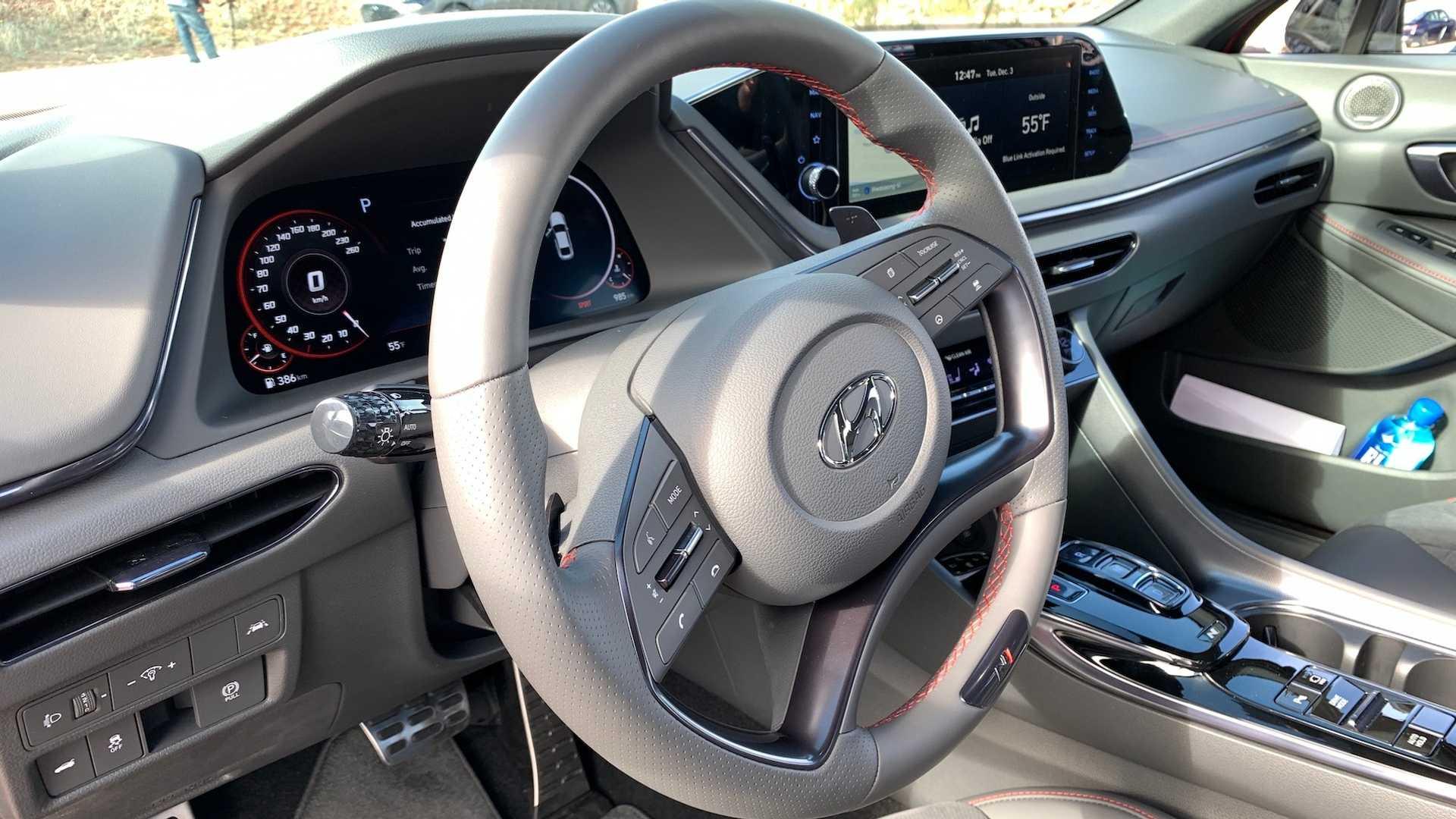 Анонсирован «заряженный» седан Hyundai Sonata N Line 3