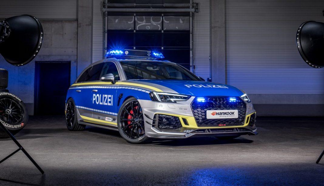 Спорткар Audi поступил на службу в полицию 1