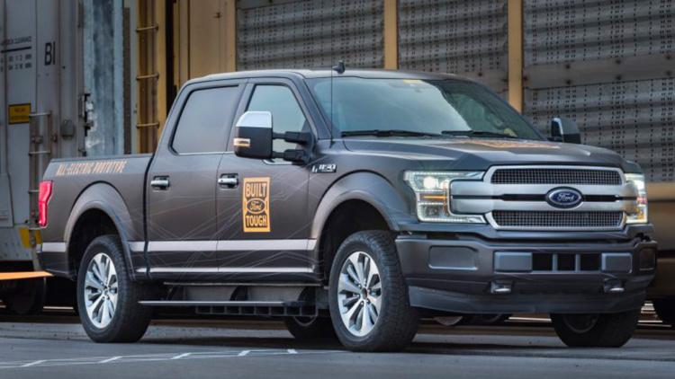 Ford построит F-150 с четырьмя электромоторами 1